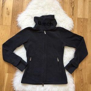 Bench women fleece zip up Sz Medium